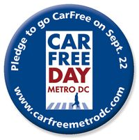 Car free day button